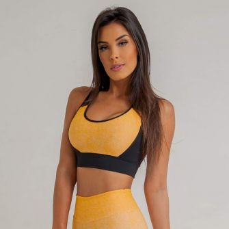 Top Fitness Jacquard