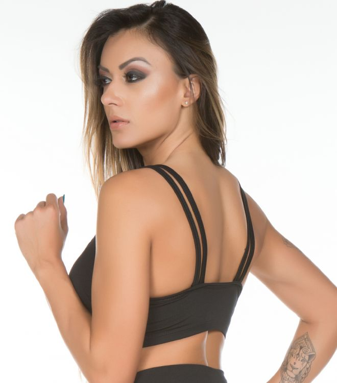 Top Fitness Strappy com Bojo